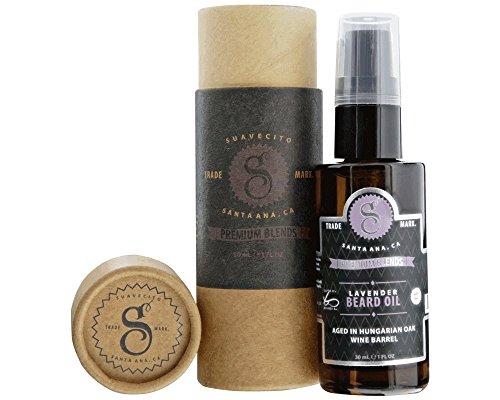 Suavecito Premium Blends Beard Oil - Lavender Beard Conditioning Serum for Men (1 fluid ounce)