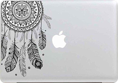 Macbook-stickers, Stillshine demonteerbaar, elegante kunstleer skin sticker vinyl decal voor Apple MacBook Pro/Air 13