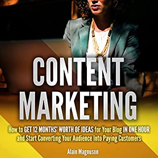 Content Marketing audiobook cover art