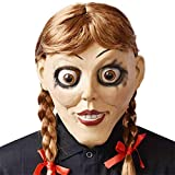 XWYWP Máscaras Halloween Llega a casa Halloween Fiesta Cosplay máscara de látex Scary Creepy muñeca ...
