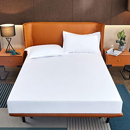 IKITOBI Sábanas bajeras antialérgicas de lujo 200 cm x 220 cm colchón estándar