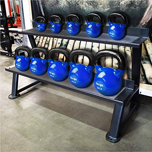 Yes4All Single Vinyl Coated Kettlebell