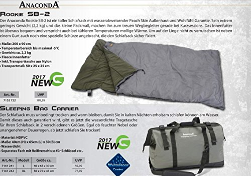 Schlafsack - Anaconda Rookie SB-2