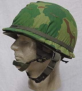 Moore Militaria Vietnam Era M-1C Airborne Helmet, Reenactor
