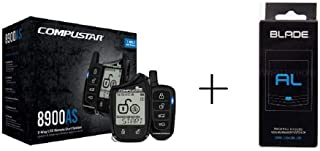Compustar CS8900-AS-BL 2 Way LCD 1 Mile Range Remote Car Starter & Security System with Blade-AL Bypass Module