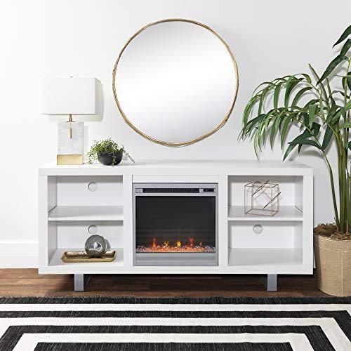 Baladog Modern Fireplace Television Stand