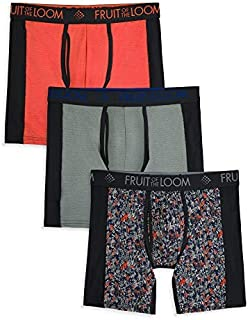 Fruit of the Loom Men's Breathable Underwear