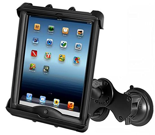 Soporte a doble ventosa para tableta pc e iPad con LifeProof Ram-Mount - RAM-B-189-TAB17U