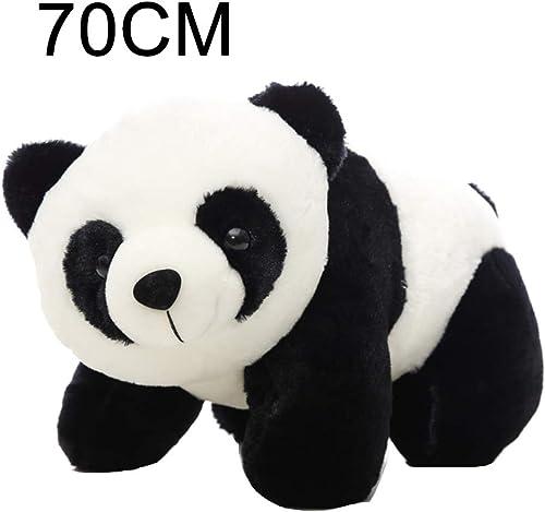 NAttnJf Panda Mignon en Peluche poupée Jouet Jet Oreiller Enfants Cadeau Petite Amie décor à la Maison 70cm