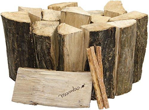 30kg mumba® Brennholz Buche 25cm Kaminholz ofenfertig