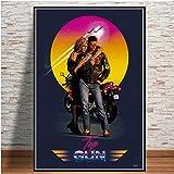 IFUNEW Kunst AbstrakteTop Gun Film 2020 Tom Cruise Film
