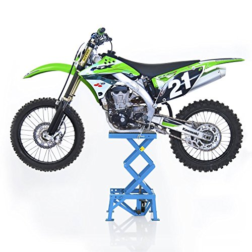 ConStands Yamaha YZ 85/125/ 250/450/ F Caballete Elevador Moto Cross Lift XL Azul