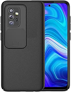 For Samsung Galaxy A32 Case CamShield Pro ShockProof Frame TPU Hard PC From Back Cover - Black
