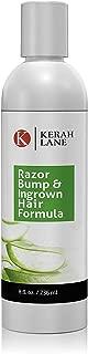 Kerah Lane Razor Bump & Ingrown Hair Natural Formula 8 Oz for Women & Men: Best..