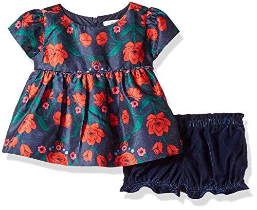 Gymboree Baby Girls 3/4 Sleeve Dressy Top, Cozy Pink, 12-18 Mo