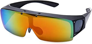 FLIP UP Polarized Sunglasses Driving Glasses UV400 Fitover Sunglasses for men and women