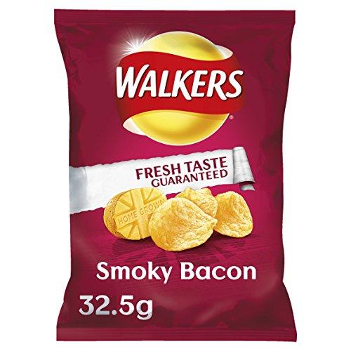 Walkers Crisps - Smoky Bacon (32.5g)