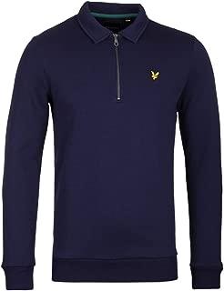Lyle & Scott Men's Collared 1/4 Zip Sweatshirt, Blue