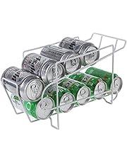 缶ラック缶収納ラック 飲料収納ラック 缶ビール 缶ビール収納ホルダー 冷蔵庫スッキリ冷蔵庫収納ラック 缶ストッカー キッチン収納 コンパクト ビール 10本収納