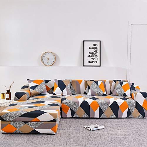ASCV Funda de sofá con Estampado Floral Toalla de sofá Fundas de sofá para Sala de Estar Funda de sofá Funda de sofá Proteger Muebles A2 4 plazas