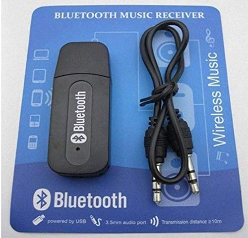 Zither® - Bluetooth Stereo Audio Receiver with 3.5mm aux Cable- Compatible with Smart Phones-Bluetooth Music Receiver