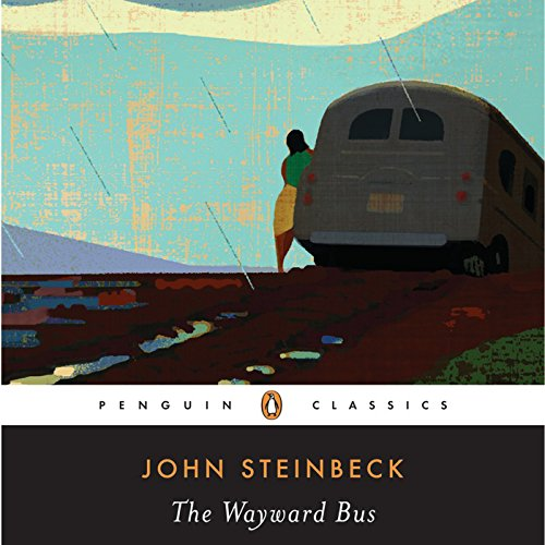 The Wayward Bus audiobook cover art