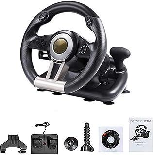feileng 【PC/PS3/PS4/X-ONE 対応】 ハンドル・ジョイスティック ロジテック レーシングホイール ハンドルコントローラースタンド Racing Wheel Apex for Racing Wheel Apex forPC/PS3/PS4/X-ONE シフター ドライビングフォース Windows7/8/10 対応 振動機能搭載 コントローラー