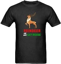 Bernie Gresham Custom Funny Reindeer are Just Gay Moose T Shirt