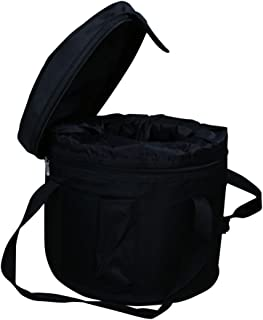 Black Padded Carrying Cases for Crystal Singing Bowl Putting 11-12 Inch Singing Bowls