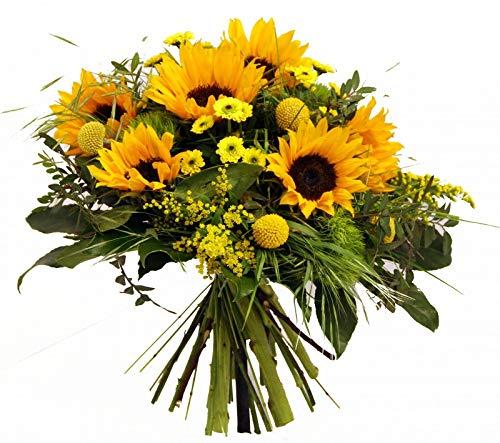 Flora Trans frische Sonnenblumen -Sonnenschein- Blumenversand
