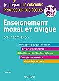 Enseignement moral et civique - Oral, admission - CRPE 2020-2021 (2020-2021)