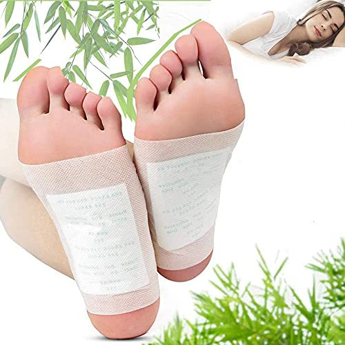 Nlight Detox Foot Patches Ginger Wormwood Foot Patch,Detox Foot Pads, Feet Detox Pads,Wormwood Foot Pads,Cleaning Detox Foot Pads, Natural Foot Pads 20Pcs