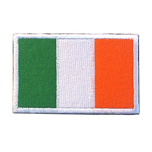 Ireland Flag Patch Embroidered Military Tactical Flag Patches
