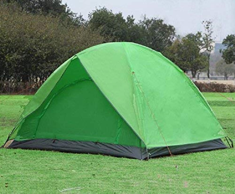 GCC Guo Outdoor Produkte Outdoor 3-4 Personen Zelt, Oxford Tuch Wind und Regen Sonnencreme, für Den Strand, Camping, Portable Zelte