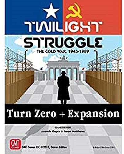 GMT Games GMT1915 Twilight Struggle Turn Zero Expansion, Mixed Colours