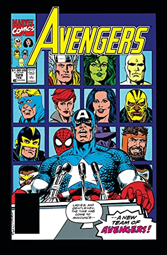 Avengers Epic Collection: The Crossing Line