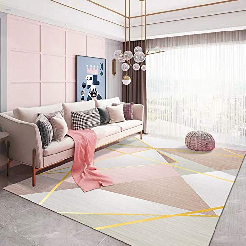 XTUK Home Decoration Rug Non Slip Carpet Wear Resistant Rug Colourfast Easy To Clean Bed Rugs Parlor Decor Area Rug Urable Rug Soft Carpet Dining Rooms Family Rooms Hallways 160 * 230cm