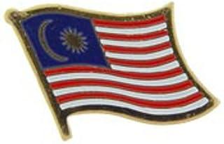 EagleEmblems P09645 Pin-Malaysia (旗帜)(2.54 厘米)