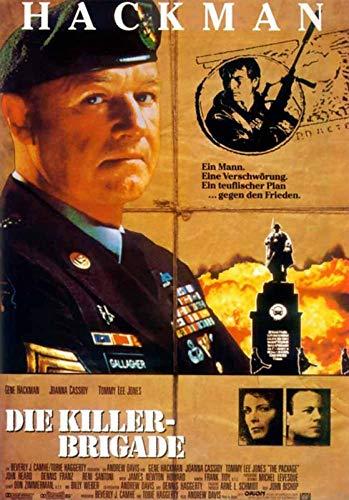 Die Killer-Brigade - Filmplakat 120x80cm gerollt