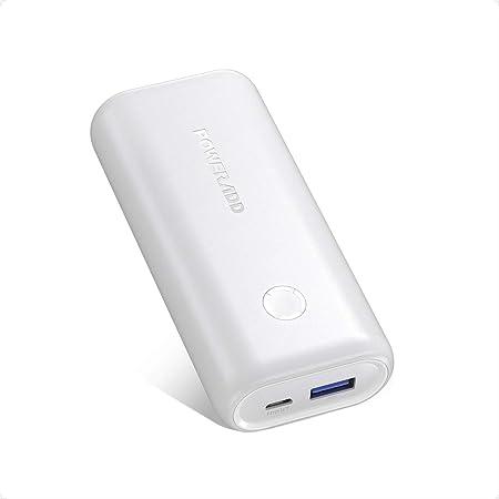 モバイルバッテリー 10000mAh Poweradd EnergyCell 10000(最小最軽量)モバイル・バッテリー 軽量 小型 急速充電 スマホ充電器 携帯充電器 PSE認証済 旅行/出張/アウトドア活動用に最適 緊急用 防災グッズ iPhone/iPad/Android各種対応 (ホワイト)