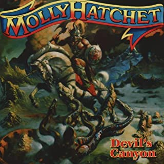 Devil's Canyon by Molly Hatchet (1996) Cd Promo in Cardsleeve
