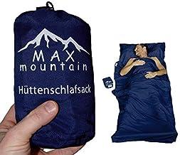 Max Mountain - Saco de dormir para de microfibra, 300&