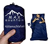 MAX mountain Saco de dormir para de microfibra, ligero, transpirable, ideal...