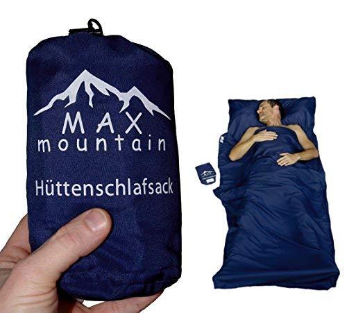 MAX mountain Saco de dormir para de microfibra