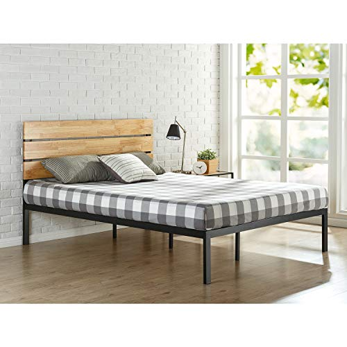 Zinus Priage by Sonoma Metal and Wood Platform Bed Queen