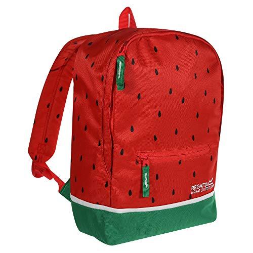 Regatta Mini Print Hardwearing Padded Character Day Pack Rucksack - Watermelon, 10 Litre