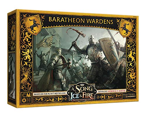 CMON A Song of Ice and Fire: Baratheon Wardens, multicolorido