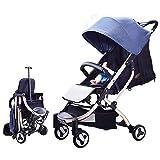 HELIn Cochecito ligero - Safety 1st Smooth Ride Travel System Marco ligero de aluminio Incluye cochecito de bebé con asiento reversible ajustable en altura