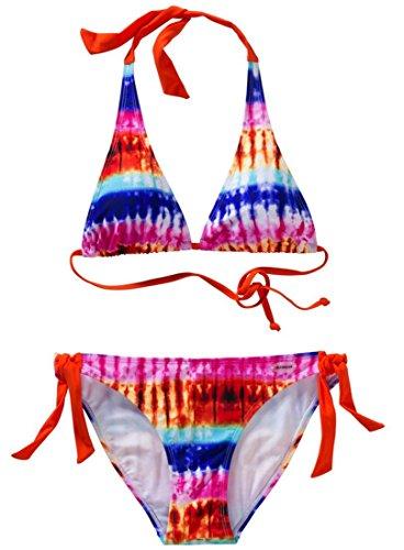 Firefly Sandra Bikini Neckholder Bikini Damen Orange 228635, Größe:40