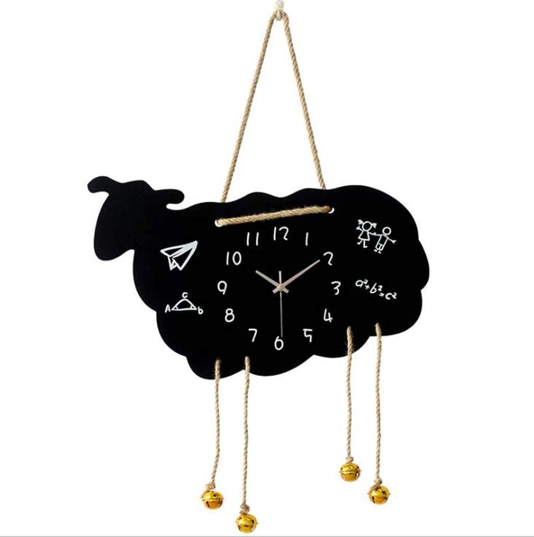 ventas directas de fábrica DDHZTA Idílico Reloj Reloj Reloj De Parojo De Madera Personalidad De Dibujos Animaños Reloj Moderno Salón Decoración Silencioso Reloj De Parojo De Cuarzo  auténtico